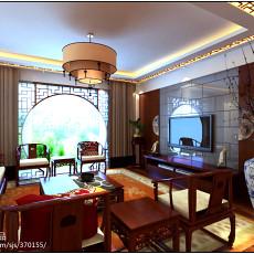 装修设计效果图客厅平米