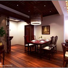 客厅餐厅一体造型