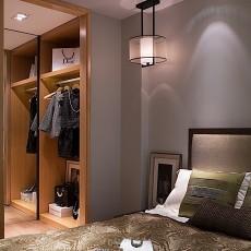 大气110平现代三居装修装饰图