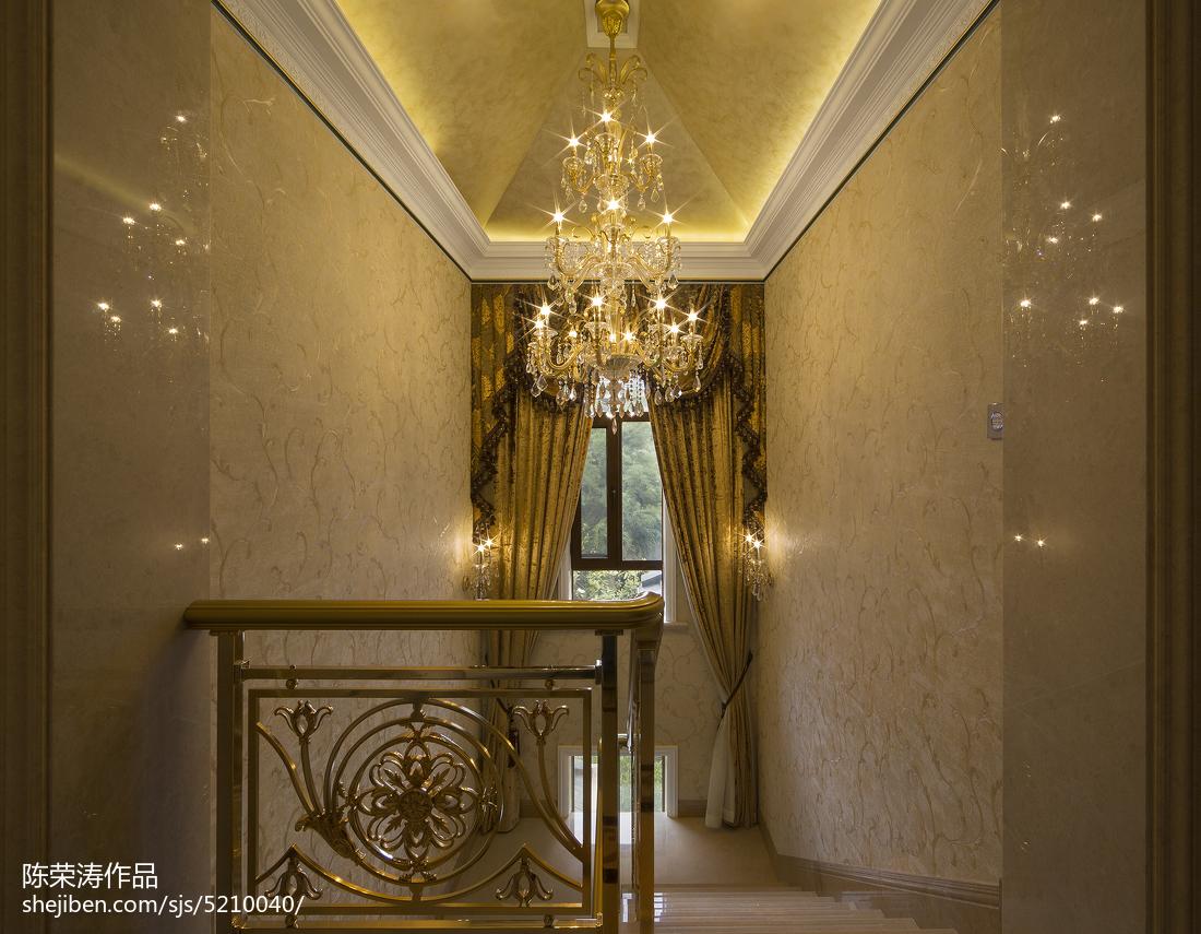 別墅歐式風格樓梯間裝修