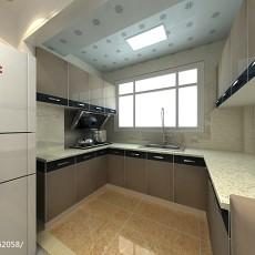 精选面积77平现代二居厨房实景图片