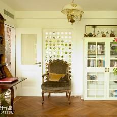 热门111平米混搭别墅书房装修欣赏图片大全