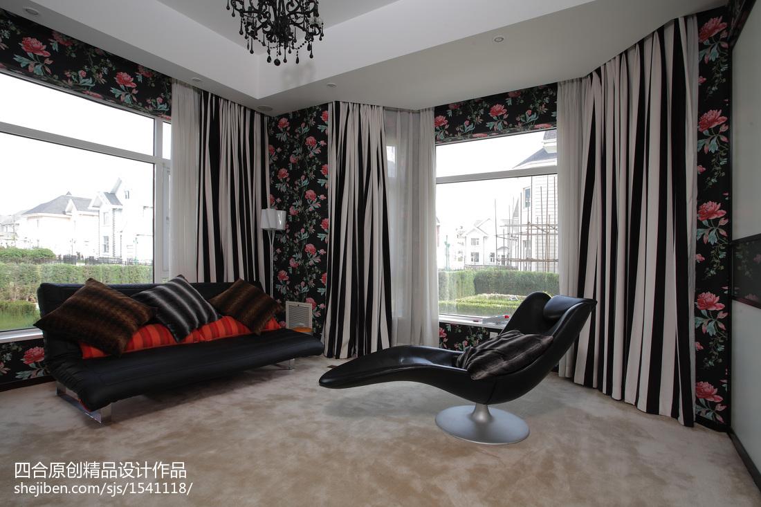 现代新中式休闲区设计