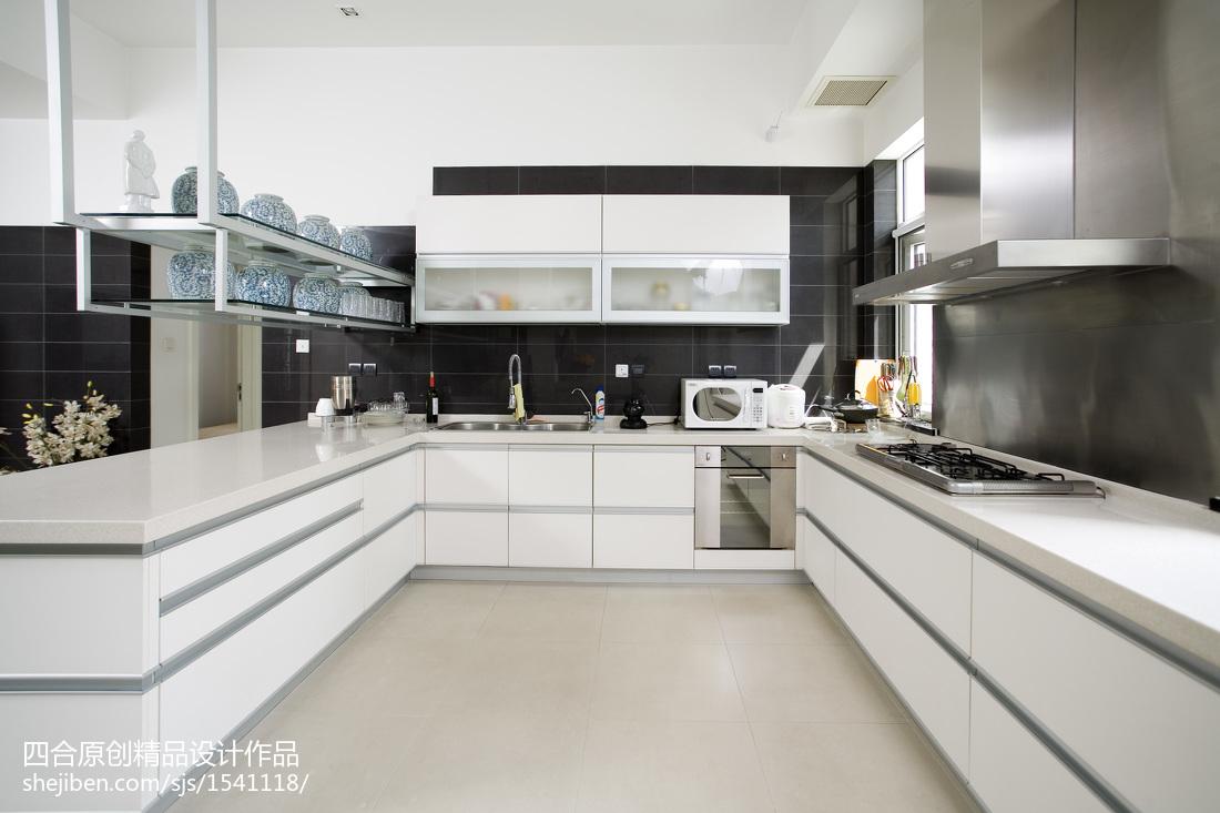 现代新中式厨房设计