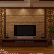 201894平米三居客厅中式装修欣赏图片大全