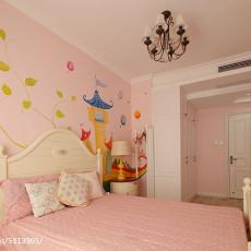 热门87平方二居卧室美式装修设计效果图片欣赏
