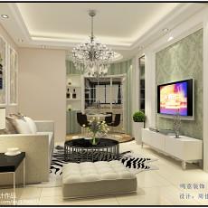 精美二居客厅欧式装修效果图片欣赏