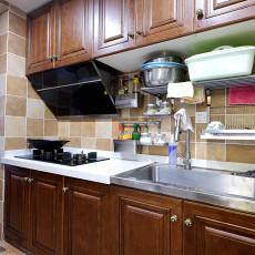 东南亚风格厨房橱柜装修效果图