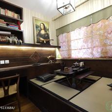 精美143平米四居书房东南亚装修设计效果图片