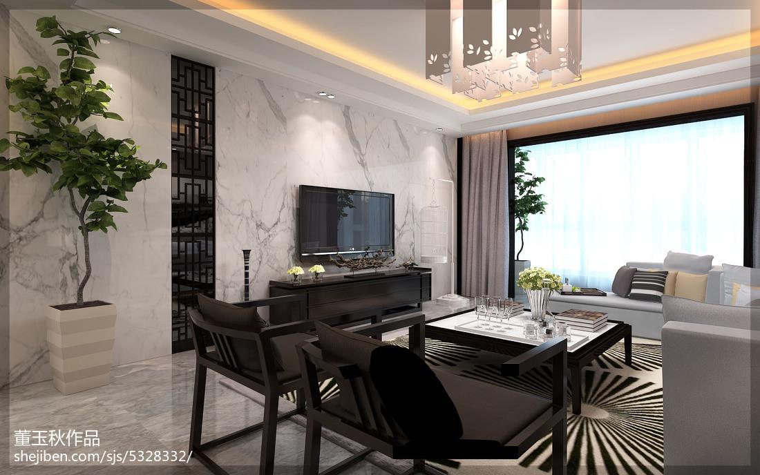 新古典中式三居装潢大全