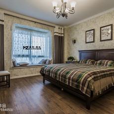 精选90平方三居卧室美式装修效果图片大全