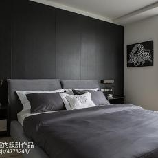 2018精选104平米三居卧室现代装修设计效果图片欣赏