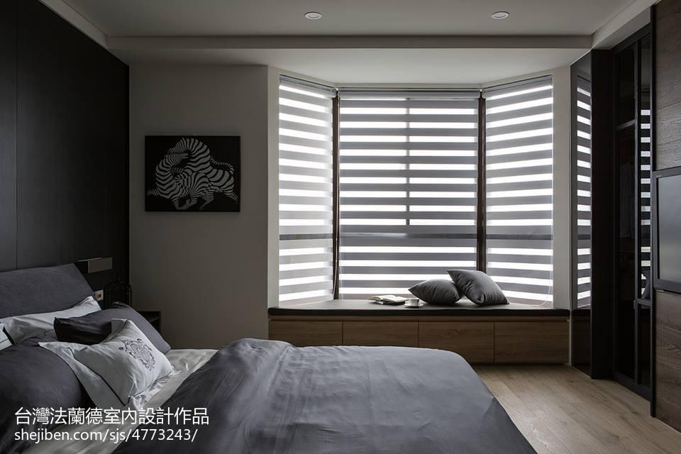 简约现代窗台装修效果图