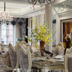 精选复式餐厅欧式装饰图片大全