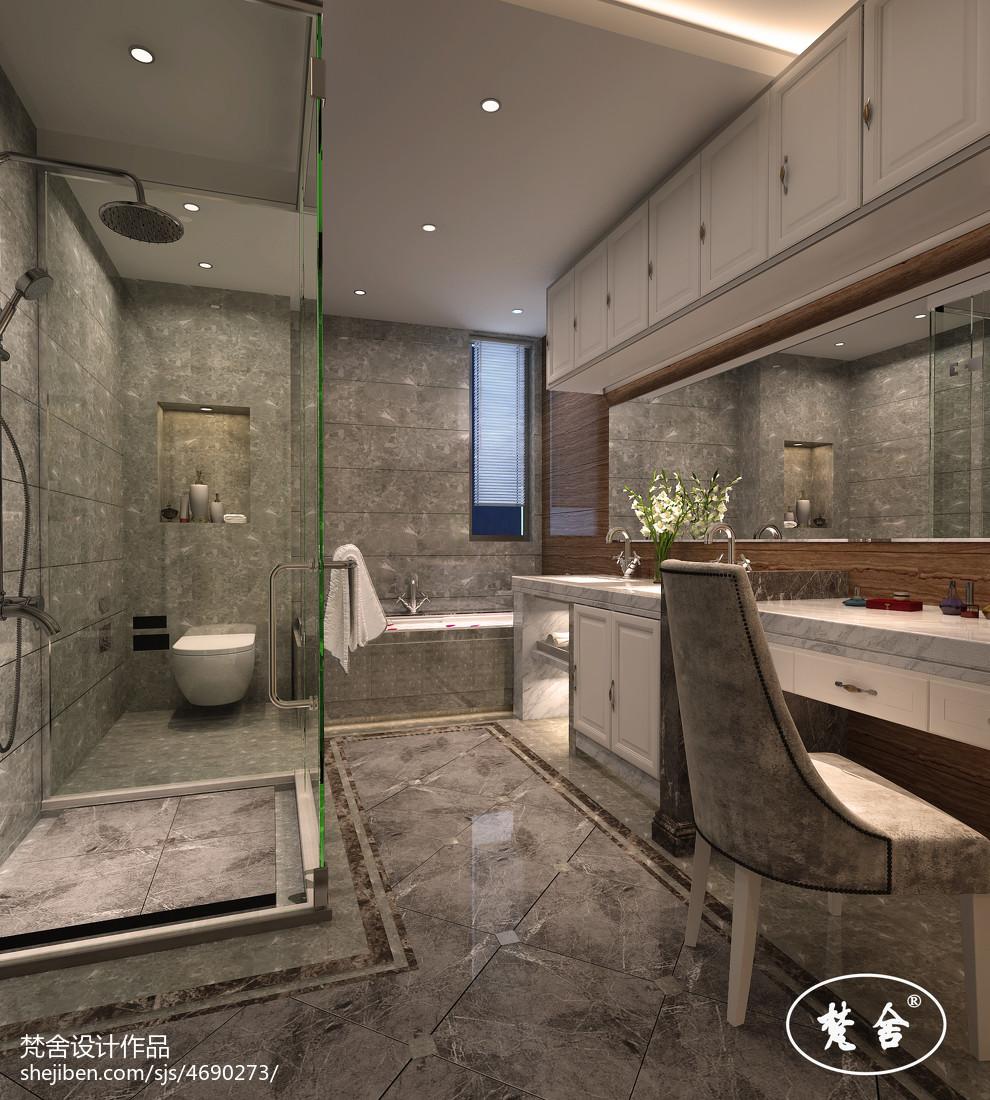 欧式卫生间设计图大全