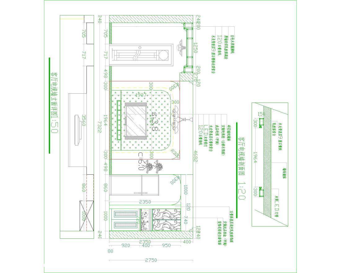 简约美式橱柜设计效果图