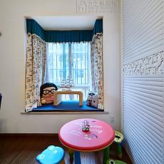 精美面积85平地中海二居儿童房装修欣赏图片