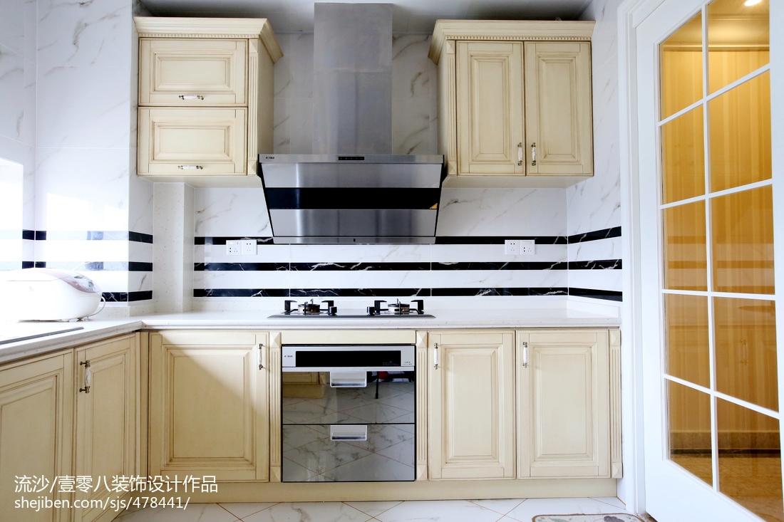 精选欧式四居厨房装修图片