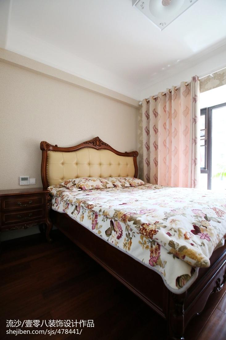 精选128平米四居卧室欧式装修设计效果图片