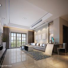 热门81平米现代小户型客厅实景图片大全