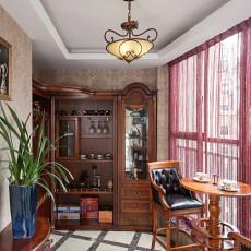 面积96平欧式三居休闲区欣赏图
