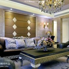 热门客厅新古典实景图片