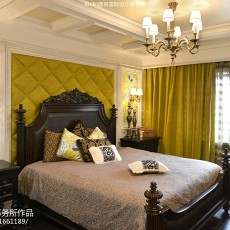 精美别墅卧室新古典装修效果图片