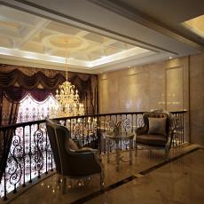 热门123平米新古典别墅过道装修效果图片大全
