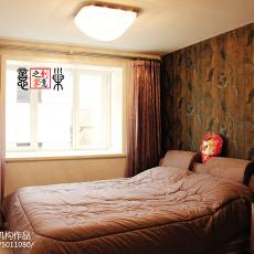 精美面积90平小户型卧室现代装修效果图片