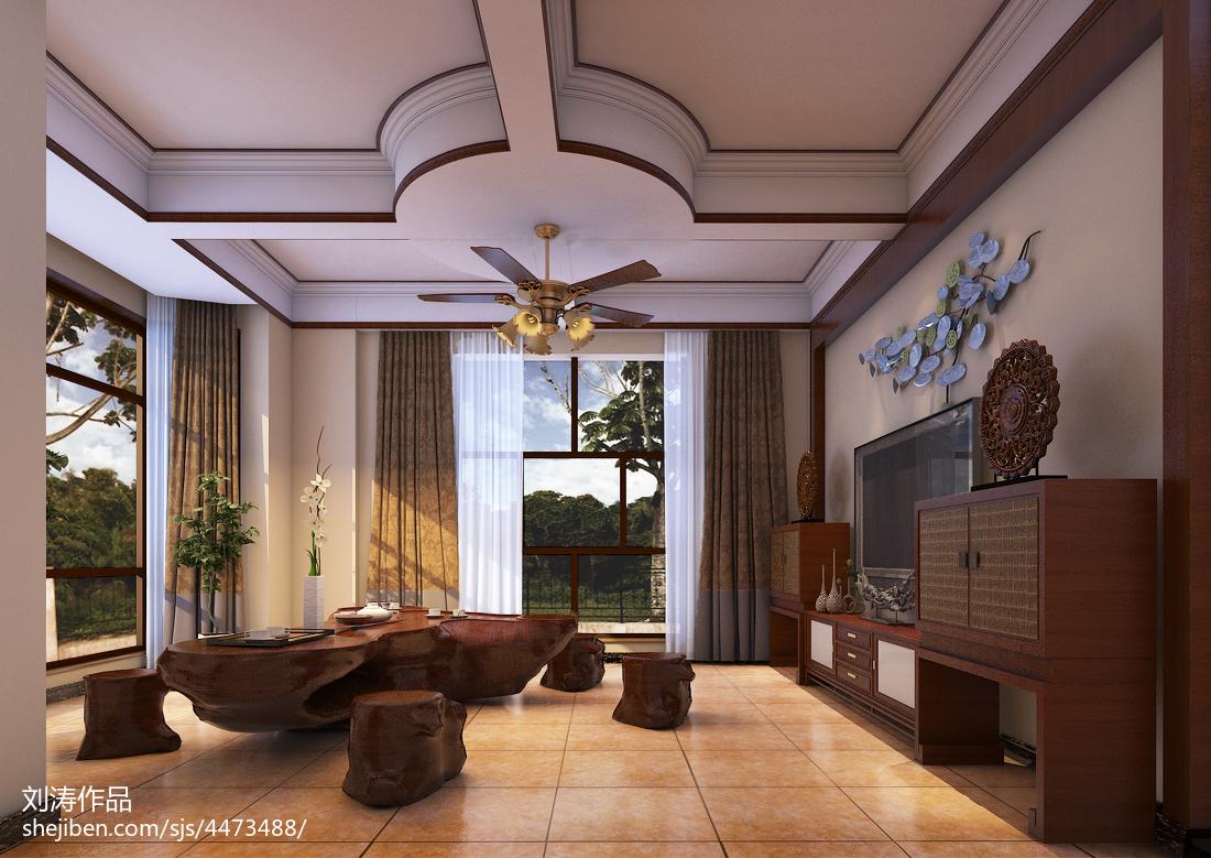 精美面积142平现代四居休闲区装修设计效果图片大全