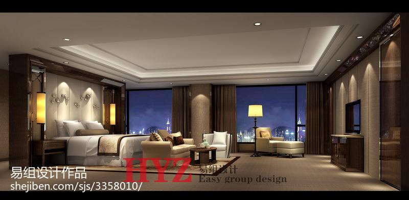 时尚质感新古典风格卧室装修效果图