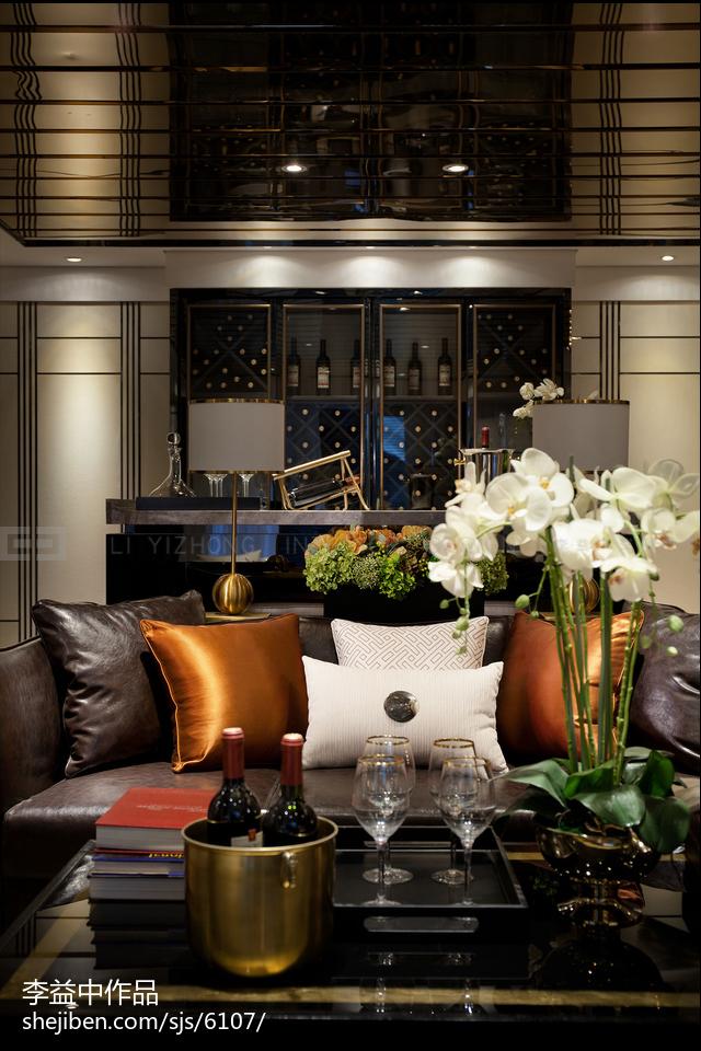 72.2平热门客厅现代装修效果图片大全