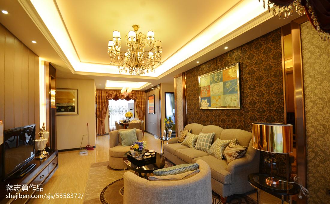 精选客厅美式装饰图片