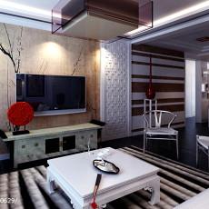 201893平方三居客厅中式效果图片