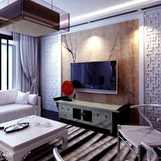 精选97平方三居客厅中式效果图片欣赏