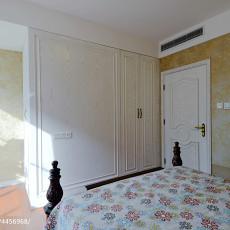 典雅641平美式别墅卧室图片欣赏