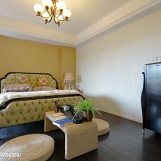 典雅801平美式别墅卧室实景图