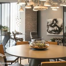 2018精选71平米现代小户型餐厅装修设计效果图片欣赏