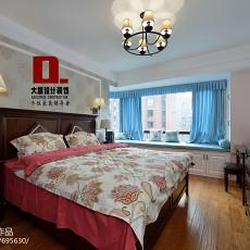 精选面积135平美式四居卧室装修实景图片大全