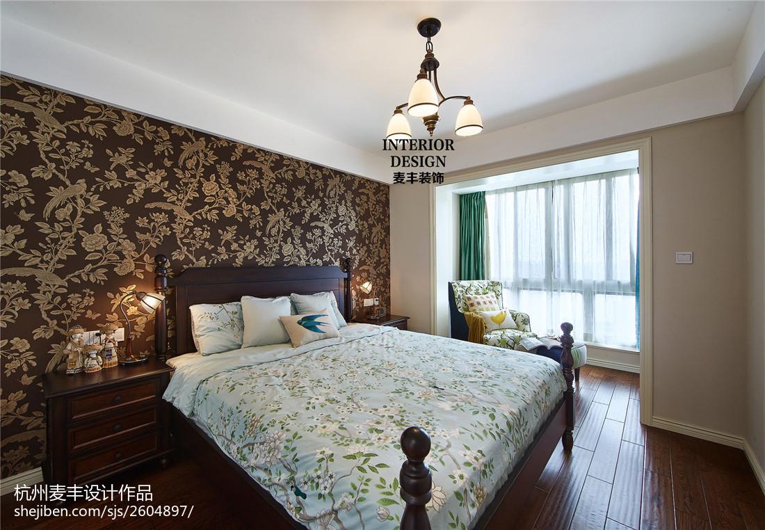 混搭美式卧室阳台设计