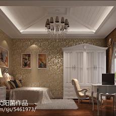 现代欧式卧室壁纸装修效果图欣赏