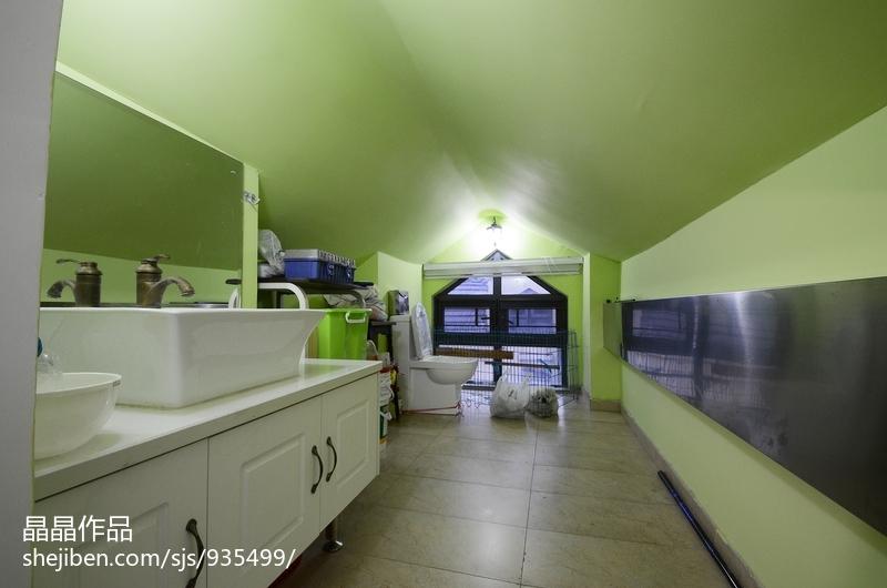 精选美式复式卫生间装修欣赏图片