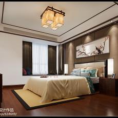 大小137平中式四居卧室装修设计效果图片大全