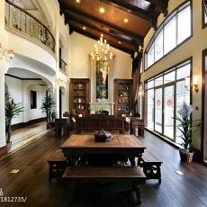 122平米美式别墅客厅装饰图
