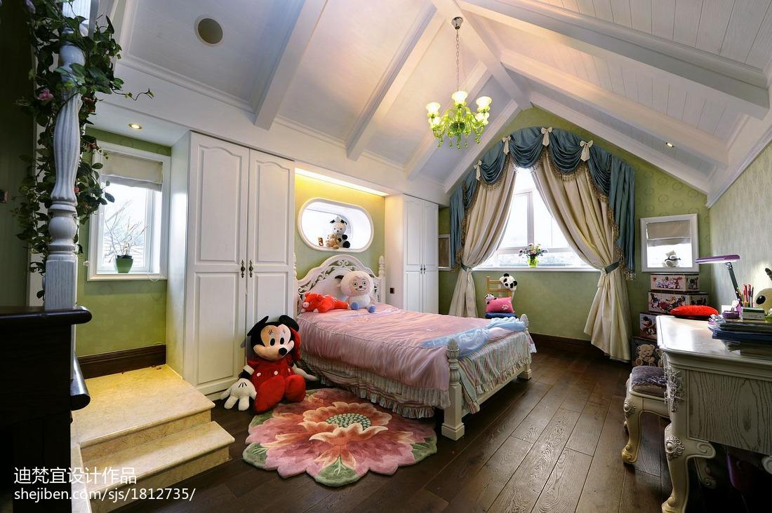 美式别墅儿童房设计
