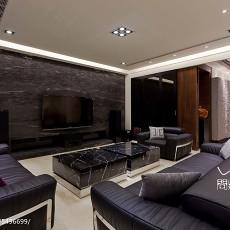 质朴519平现代别墅客厅装饰图片