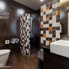 简洁665平现代别墅卫生间设计美图
