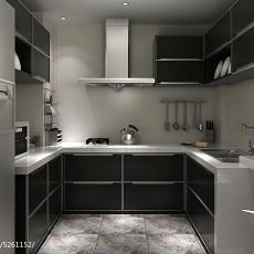 精选95平米三居厨房现代欣赏图片
