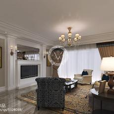 大小100平欧式三居卧室装修图片欣赏