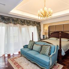 2018精选144平米新古典别墅卧室装修设计效果图